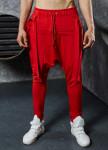 Изображение Штаны галифе со шлейками красные MFStore