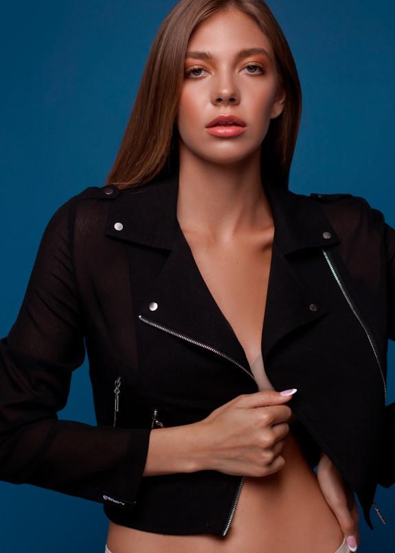 Изображение Куртка шифон - полоска