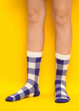 Изображение Носки длинные tartan