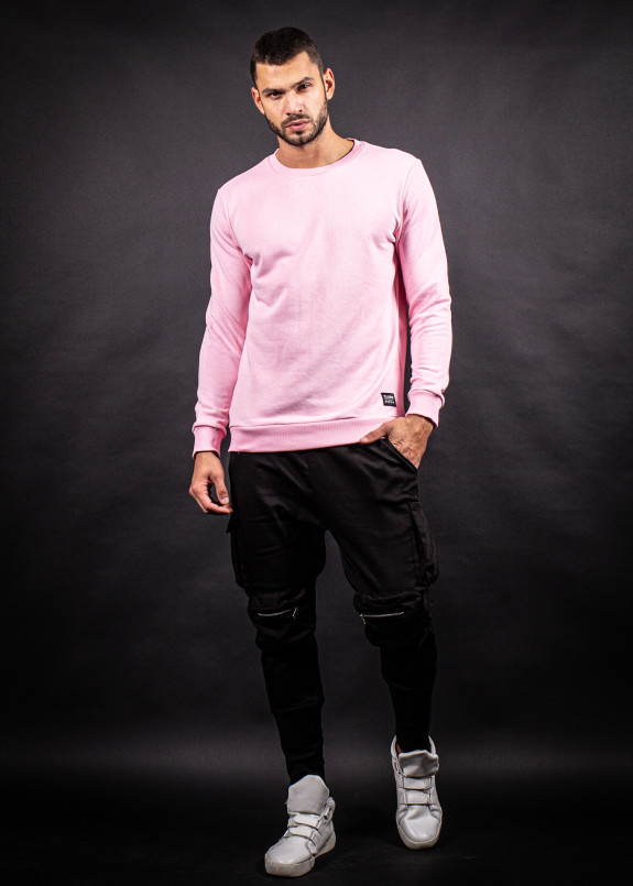 Изображение Кофта розовая с трехнитки