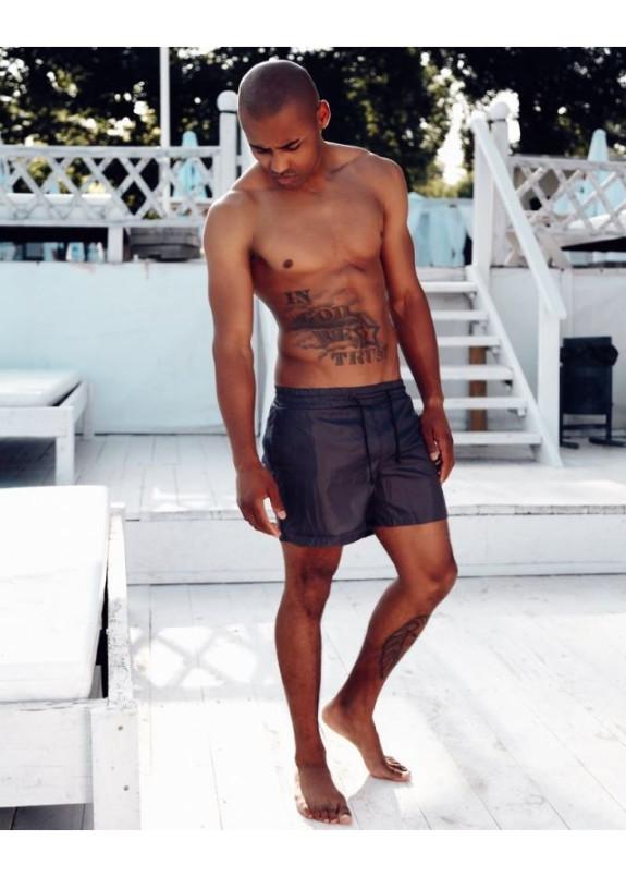 Изображение Плавки мужские темно-серые Black Limit