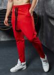 Изображение Штаны галифе с молнией спереди красные MFStore