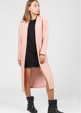 Изображение Женский кардиган розового цвета Street style