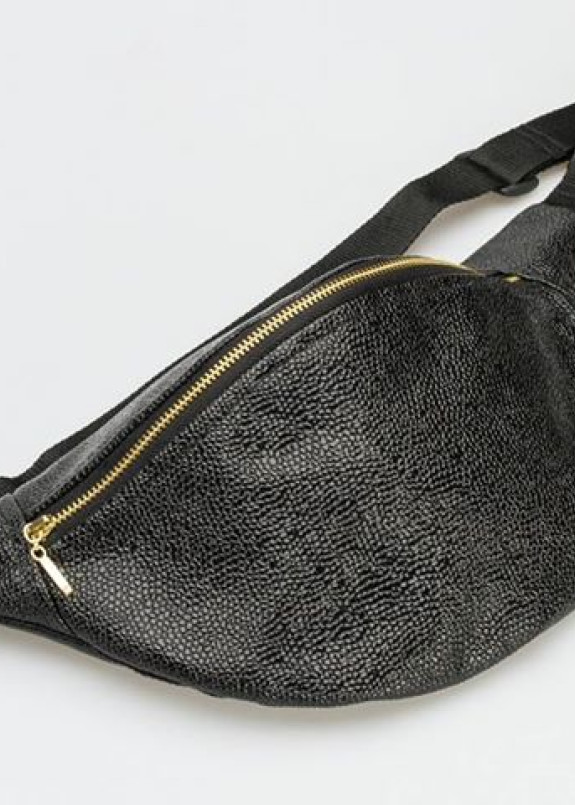 Изображение Поясная сумка банан Ikra Black Big