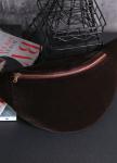 Изображение Замшевая сумка на пояс