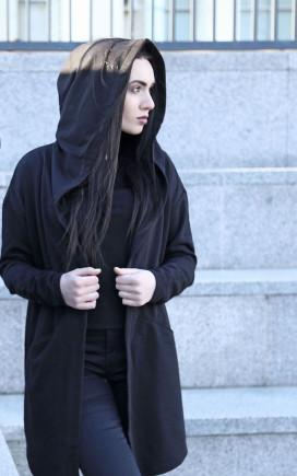 Изображение Мантия черная тонкая BlackWood