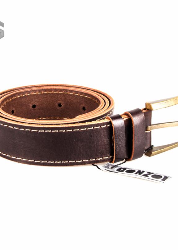 Изображение Ремень классический коричневый Gonzo