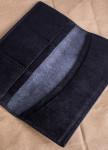 Изображение Кошелек кожаный темно-серый Gonzo