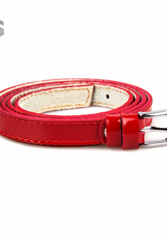 Изображение Ремень красный с пряжкой Gonzo
