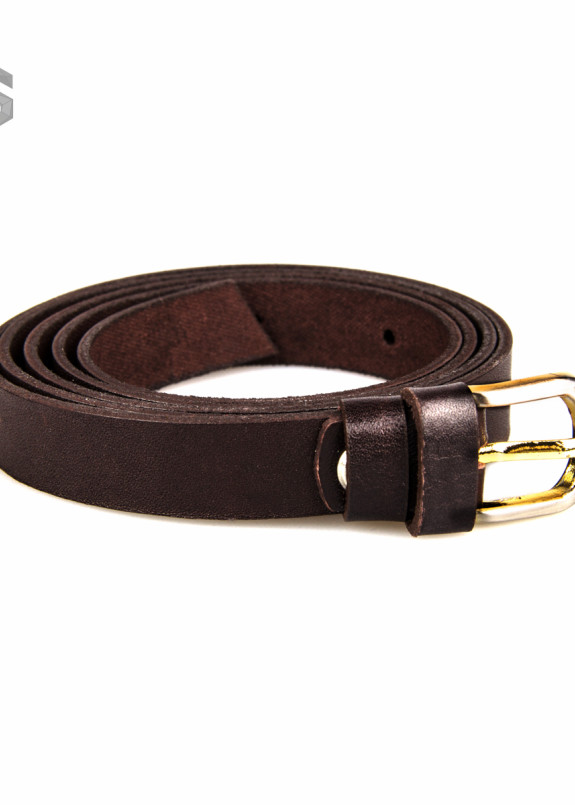 Изображение Ремень темно-коричневый с пряжкой Gonzo