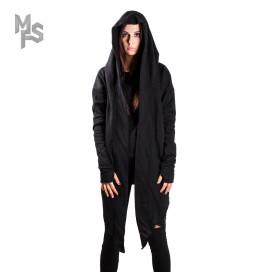 Изображение Мантия  асимметричная черная MFS