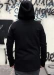 Изображение Худи черное с замками по боках BlackWood