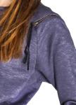 Изображение Платье серое с молниями на плечах и карманах Lut