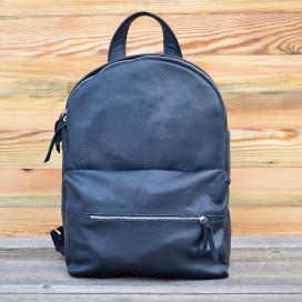 Изображение Рюкзак с карманом на молнии черный Kogut