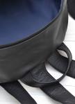 Изображение Рюкзак с вертикальными стежками черный Kogut