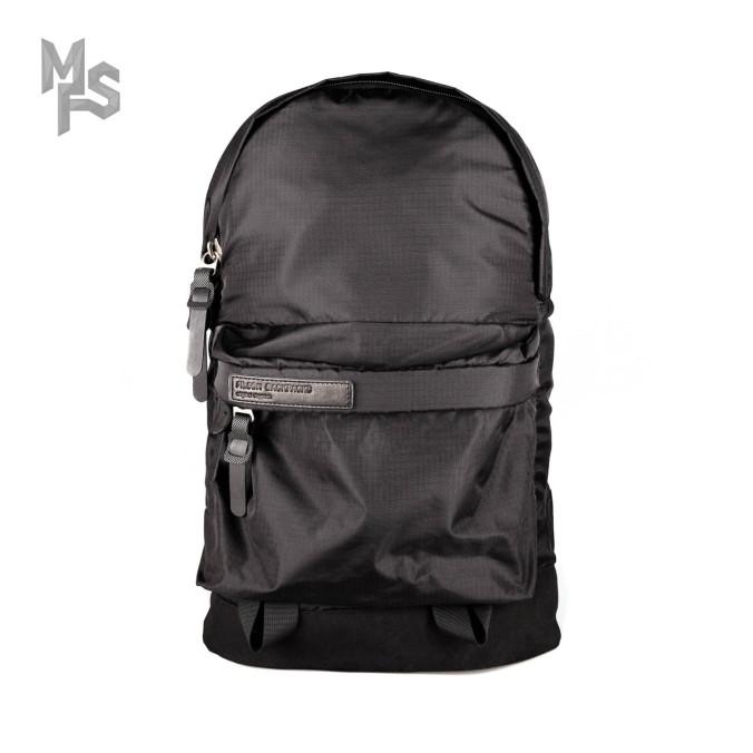 Изображение Рюкзак водонепроницаемый с текстильным дном черный Pilsok