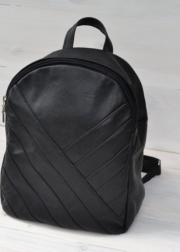 Изображение Рюкзак с декоративной строчкой черный Kogut