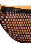 Изображение Сумка на пояс неопрен с сеткой оранжевая Mari Mir