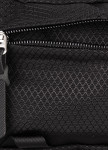 Изображение Сумка на пояс текстильная большая Ромб черная Pilsok