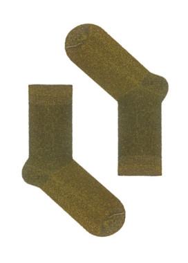 Изображение Носки с люрексом золотые Gold Dust SOX