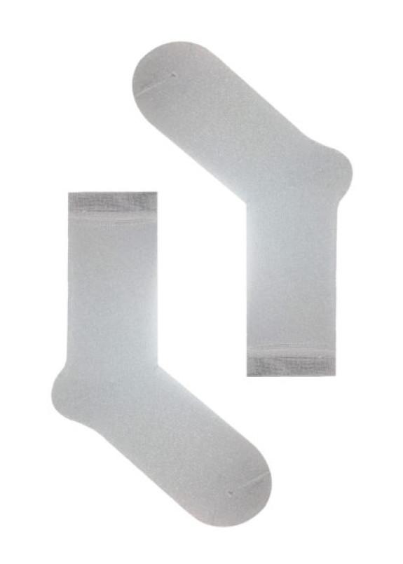 Изображение Носки с люрексом серебряные Light Silver Dust SOX
