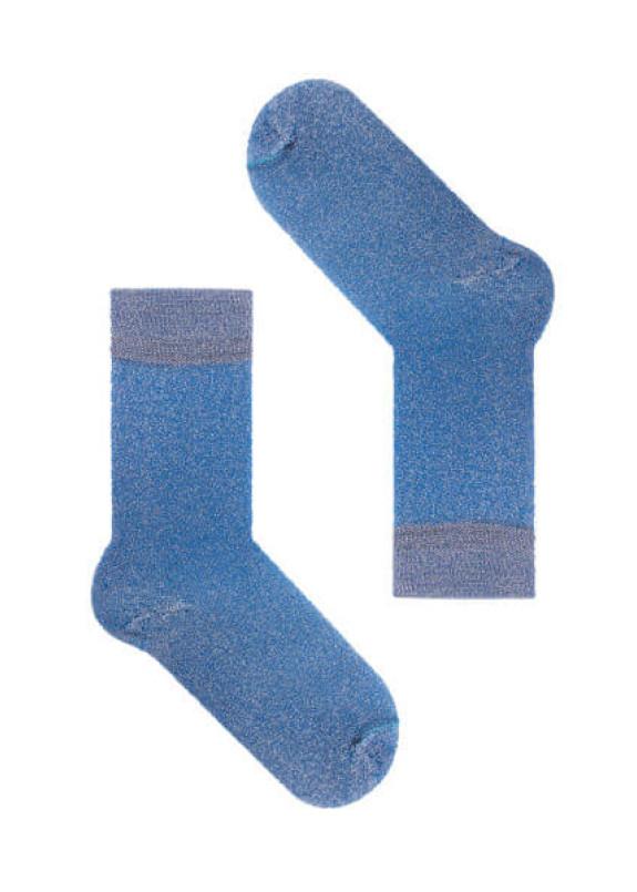Изображение Носки с люрексом голубые Blue Dust SOX
