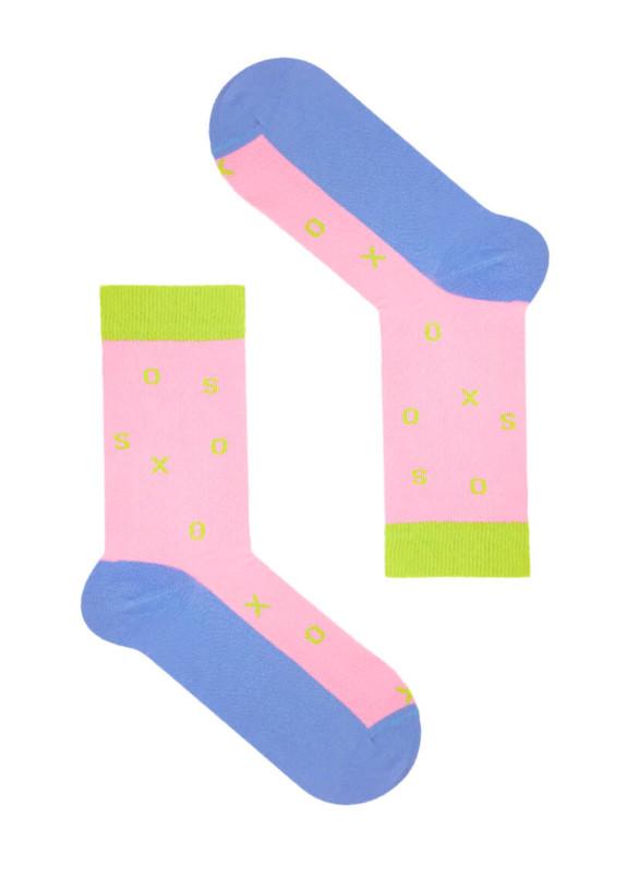 Изображение Носки розовые SSS ROSE-GREEN SOX
