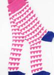 Изображение Носки белые с розовым Гребенка SOX
