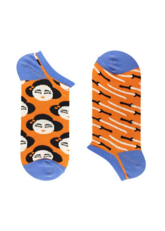 Изображение Носки мужские короткие оранжевые YOUR PERSONAL GEISHA SOX