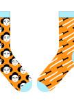 Изображение Носки длинные оранжевые YOUR PERSONAL GEISHA SOX