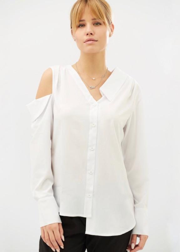 Изображение Рубашка женская белая Eccentric BANG