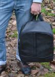 Изображение Рюкзак мужской кожаный черный Kogut