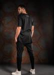 Изображение Футболка мужская черная с принтом Digital MFS BRAND