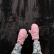 Изображение Варежки розовые Radio Cat