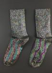 Изображение Носки с люрексом разноцветные GALAXY DUST SOX