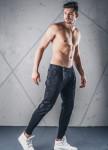 Изображение Джинсы мужские с молнией сбоку черные MFStore