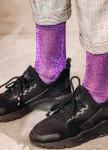 Изображение Носки с люрексом фиолетовые VIOLET DUST SOX