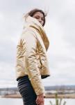 Изображение Куртка женская золотого цвета GOLD HUMAN Marani