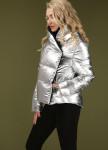 Изображение Куртка женская серебряного цвета GOLD HUMAN Marani