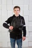 Изображение Рюкзак мужской в форме трапеции черный Kogut