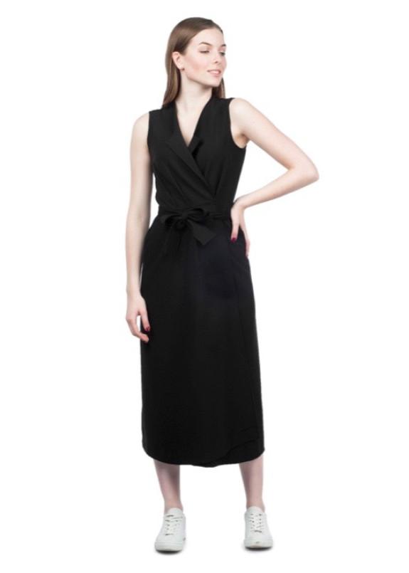 Изображение Платье-жилет черное Grishko Design
