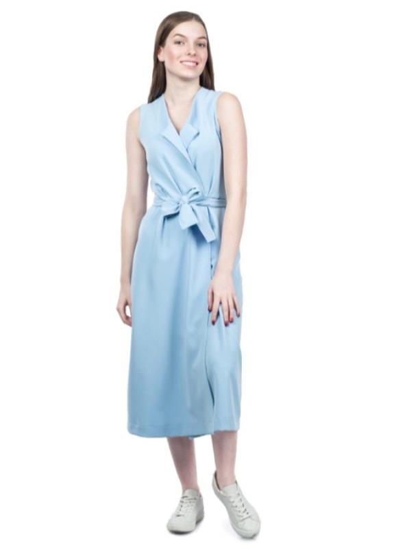 Изображение Платье-жилет голубое Grishko Design