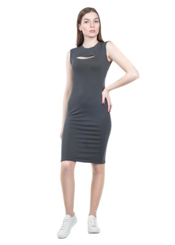 Изображение Платье серое Punk Grishko Design