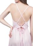 Изображение Сарафан макси на шнуровке розовый Grishko Design