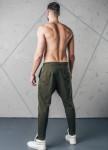 Изображение Спортивные штаны со строчками хаки MFStore