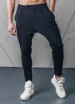 Изображение Спортивные штаны со строчками черные MFStore