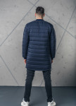 Изображение Пальто мужское утепленное синее MFStore