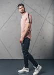 Изображение Футболка со строчкой розовая Х MFStore