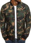 Изображение Куртка мужская камуфляж зеленая MFStore