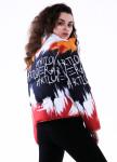 Изображение Куртка женская короткая разноцветная INSHA